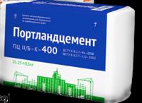 Цемент ПЦ-400 бело-синий 25кг
