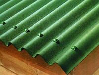 Шифер Ондулин 10-ти вол. 2*0,95м зеленый + гвозди 20шт