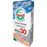 Клей для плитки Анцерглоб 30 (25кг)
